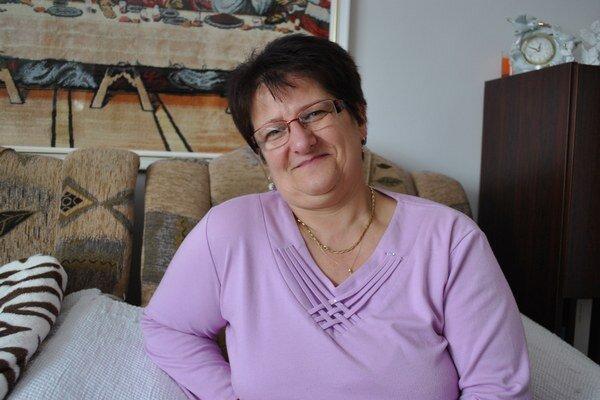 Pani Marta Ištoňová z Torysy.