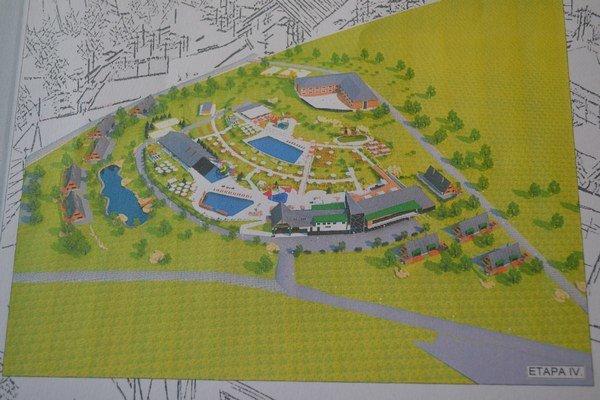Vizualizácia. Takto by mal vyzerať lipiansky aquapark.