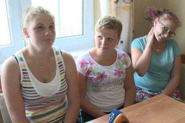 Ťažko skúšané osudom. Sestry Kornélia, Frederika a Tamarka Gáľové.