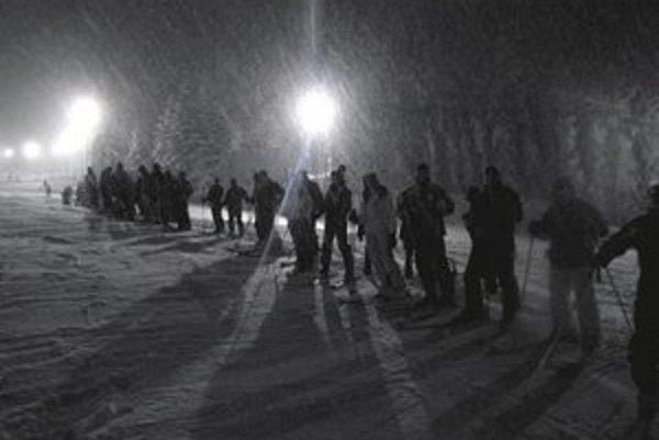 Drienica ponúka turistom viaceré lákadlá, vrátane nočného lyžovania.