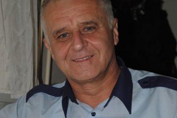 Ľubomír Semaník. Náčelník Mestskej polície v Sabinove.