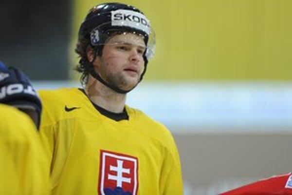 Marek Zagrapan. V národnom tíme sa ukázal znovu po dvoch rokoch.