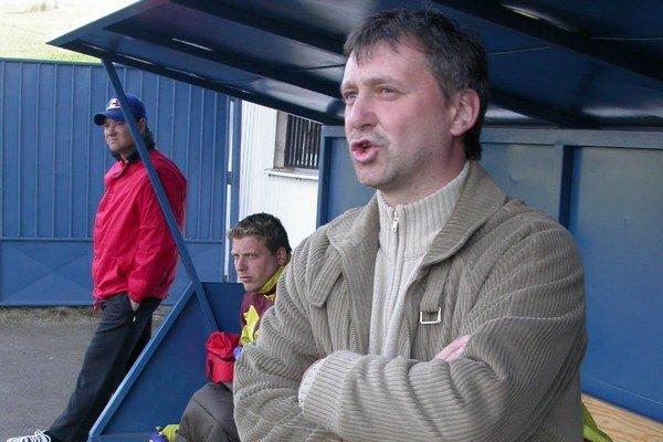 Emil Jacko. Stal sa novým trénerom treťoligových Lipian.