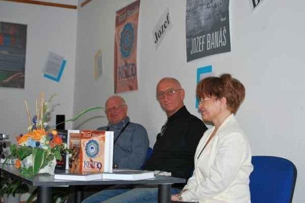 Beseda so spisovateľom. Jozef Banáš predstavil najnovší román.