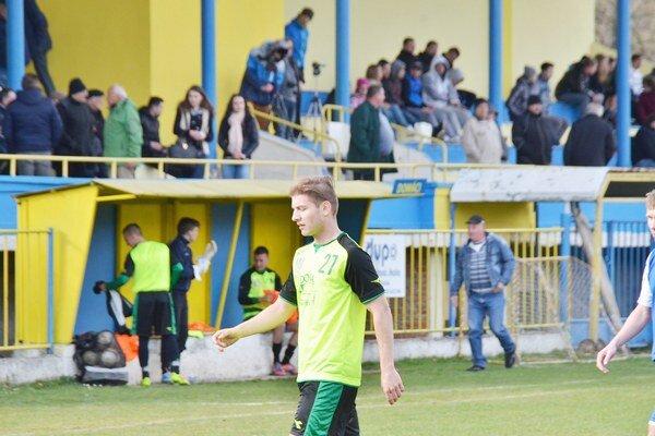 Prvý gól. Lukáš Strelka si v Kalši pripísal prvý gól v drese SP MFK Rožňava.