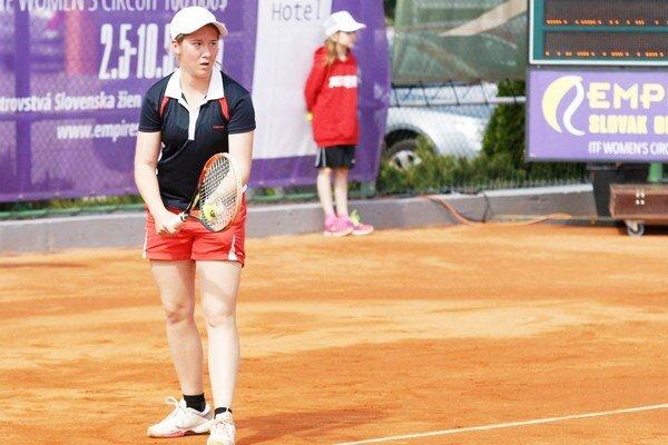 Tenistka Alexandra Lázárová.