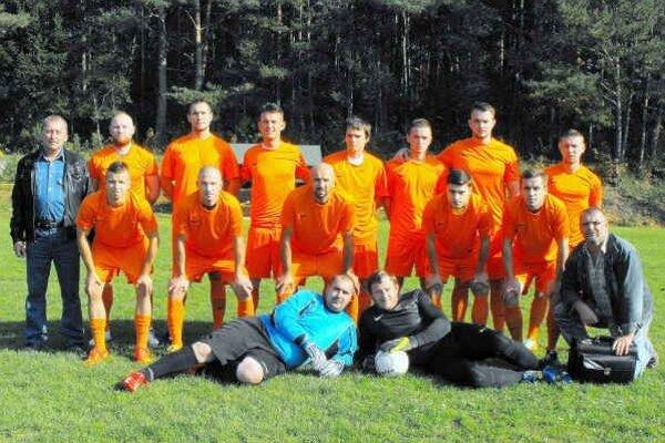 Uspešní piatoligisti. Futbalisti FK Gemerská Hôrka.