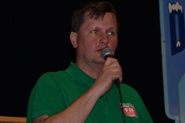 Riaditeľ Marcel Kollárik.