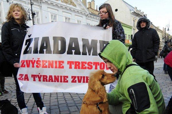 Petícia aktivistov. Chcú funkčnejšiu zákonnú ochranu zvierat.