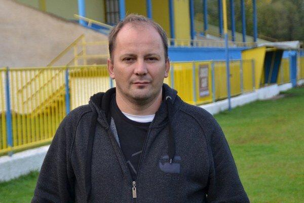 Prezident MFK Rožňava Michal Domik.