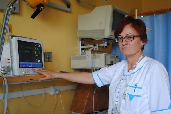 E. Ivanová. Prácu zdravotnej sestry by nevymenila.