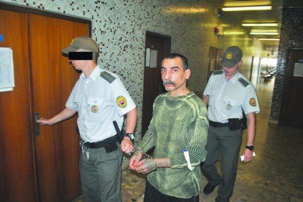 Dušan na košickom súde. Trest 80 mesiacov mu potvrdili.