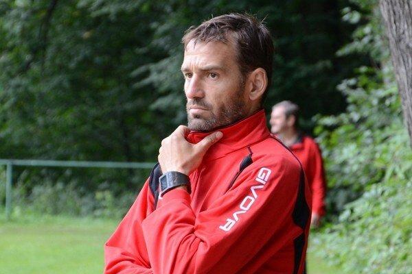 Tréner Vladislav Vávra.