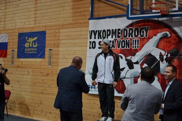 Najúspešnejší pretekár. V roku 2014 bol najúspešnejším taekwondistom Boris Lieskovský z Košíc.
