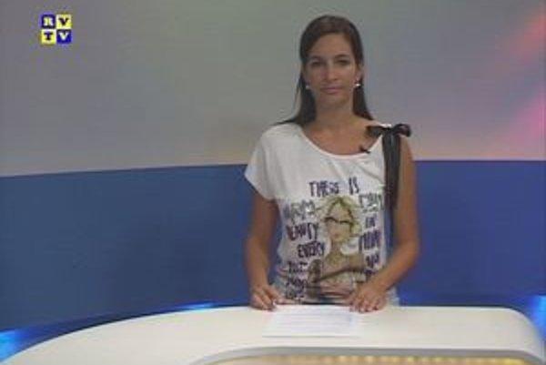 Martina Beshirová. Po 11 rokoch v RVTV končí.