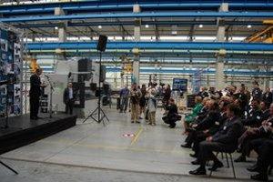 LVD S3. V novom závode nájde prácu 250 ľudí.