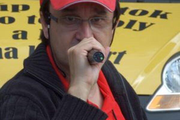 Moderátor. Vladimír Miklóšik, september 2007.