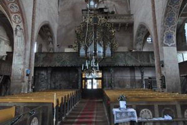 Najstarší organ. Podľa vedeckého výskumu pochádza zo začiatku 16. storočia.