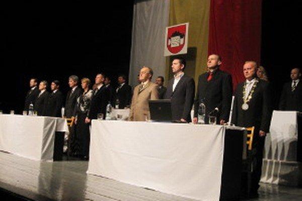 V Bojniciach bolo ustanovujúce zastupiteľstvo v piatok 12. decembra.