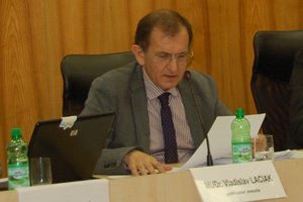 Primátor Rožňavy Vladislav Laciak.