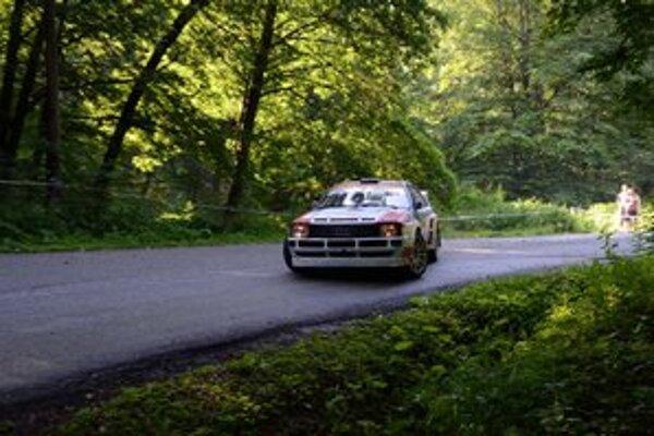 Pre J. Béreša st. sa preteky v Lubeníku skončili kvôli problémom s prevodovkou veľmi skoro.