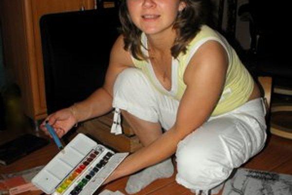 Prvé akvarelové farby nestratili svoju kvalitu a sýtosť ani po dvadsiatich rokoch.