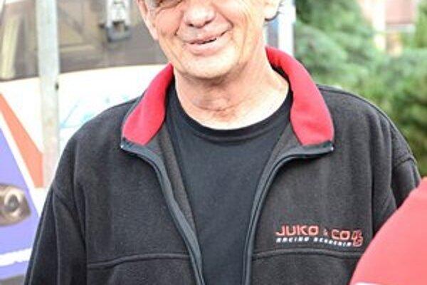 Jazdec Julo Konček.
