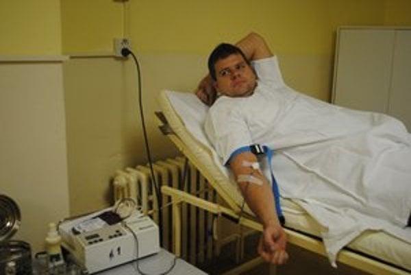 René Turenský. Darovať krv považuje za samozrejmosť.