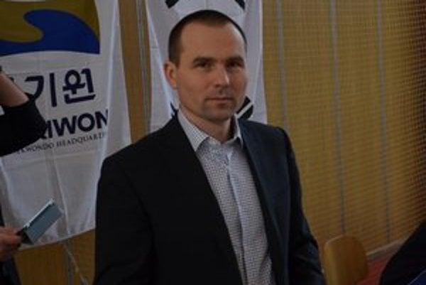 Predseda SATKD WTF Pavel Ižarik.