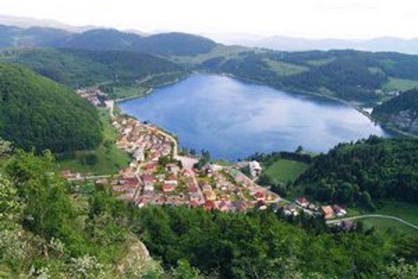 Pohľad z Gačovskej skaly