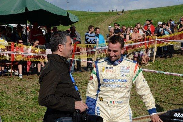Obhajca prvenstva. Talian Simone Faggioli sa minulý rok predstavil v Dobšinej vo veľkom štýle.