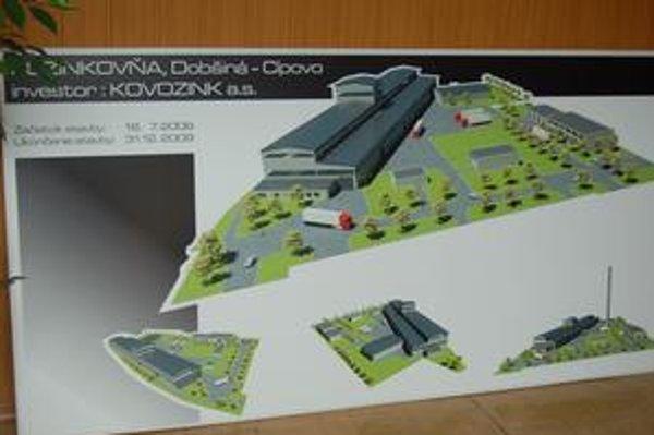 Investícia. Stála šestnásť miliónov eur a vytvorí 50 nových pracovných miest. Do prevádzky ide po dvoch rokoch. výstavby.