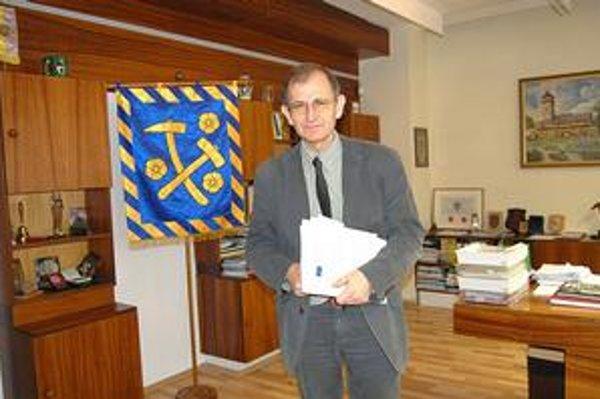 Vladislav Laciak. Doterajší primátor kandidovať znovu už nechce.
