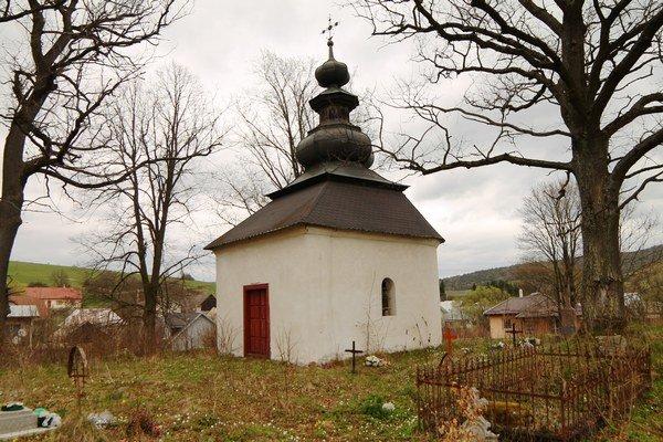 Cintorínska kaplnka v Šarišskom Čiernom.