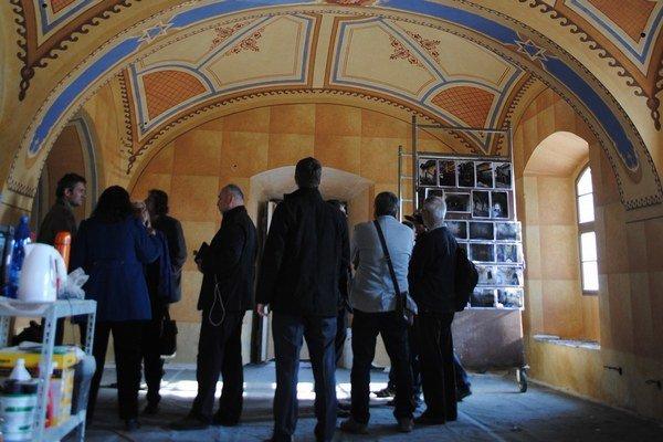 Stará synagóga vBardejove. Jej súčasťou je aj zrekonštruovaná ženská galéria.