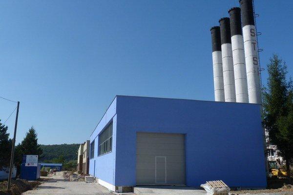 Hnedý priemyselný park v Stropkove.