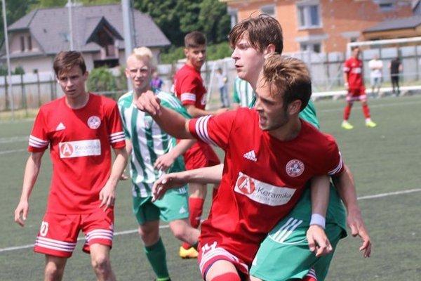Šarišské derby U19. Bardejov zdolal Prešov 2:1.