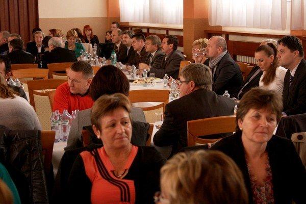 Deň samosprávy okresu Bardejov. V Bardejove diskutovali starostovia obcí.