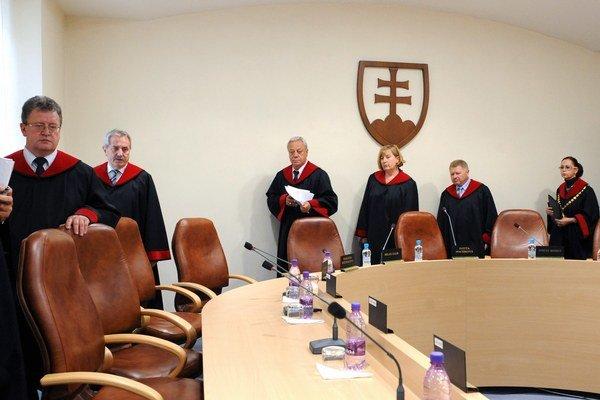 O šéfovi súdu v Bardejove budú rozhodovať jeho kolegovia z Ústavného súdu.