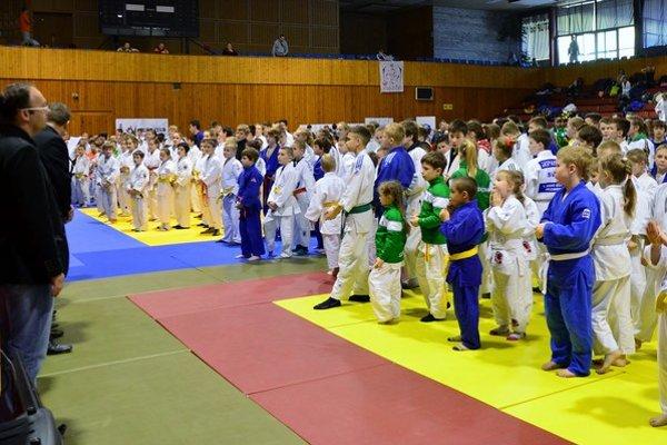 Mladí judisti zaujali súťažou.
