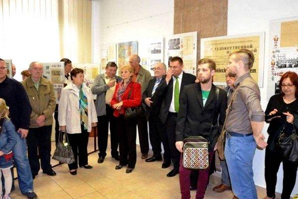 Vernisáž v POS Svidník. Výstava Hudobný fond Juraja Cimboru potrvá do 9. júna.