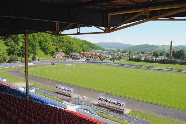 Mestský štadión. Bude slúžiť len futbalu, ovál zmizne.