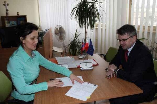 Podpisovanie zmluvy v Zagórze. Projekt v dvoch lokalitách bude stáť  50–tisíc eur.