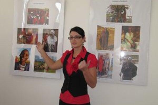 Fotografie vznikali počas pobytu ich autorky v Afrike.