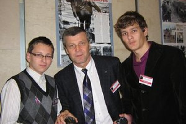 S Petrom Šťastným boli v Európskom parlamente.