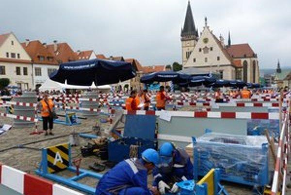 29. celoslovenská vodárenská súťaž. Do súťažného zápolenia sa zapojilo desať družstiev vodárenských pracovníkov.
