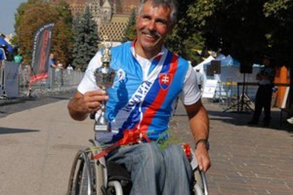Daniel Kukľa chcel aj na paralympiádu...