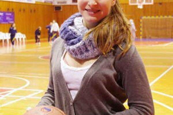 Vanesa Gajdošová. Talentovaná žiačka BKM v oboch zápasoch mala presnú mušku.