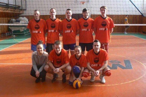 Volley team. Víťaz turnaja.