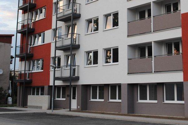 Nový bytov je v Ružomberku stále málo.
